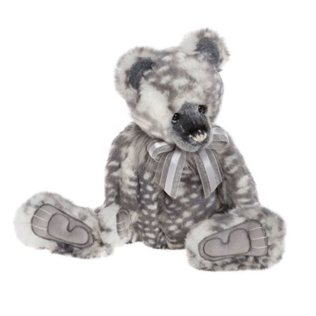 Charlie Bears Melissa Plush Collection Grey  - Click to view a larger image