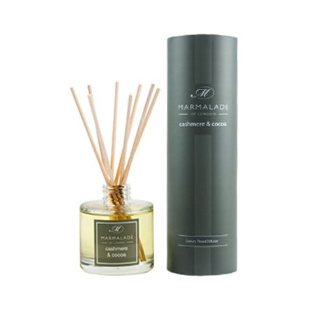 Marmalade Of London Cashmere & Cocoa Travel Reed Diffuser  - Click to view a larger image