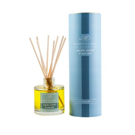 Marmalade Of London Pacific Orchid & Sea Salt Travel Reed Diffuser  - Click to view a larger image