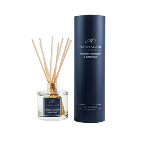 Marmalade Of London English Rosemary & Patchouli Travel Reed Diffuser  - Click to view a larger image
