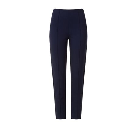 Emreco Ponte Slim Leg Trousers Sapphire  - Click to view a larger image