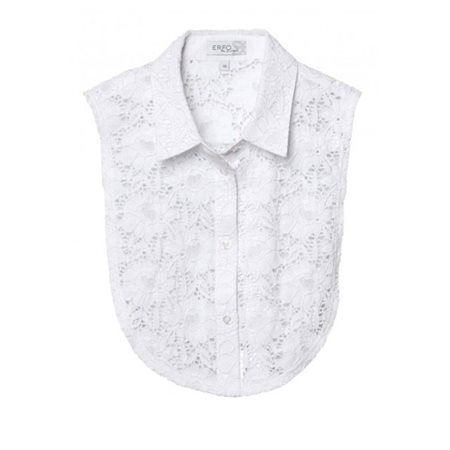 Erfo Lace Collar Insert White  - Click to view a larger image