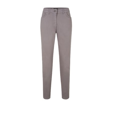 Olsen Soft Cotton Jeans Grey  - Click to view a larger image
