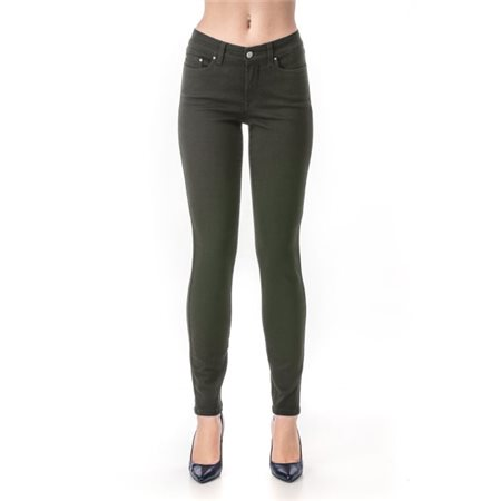 Jq Jeans Debbie Sateen Jeans Green  - Click to view a larger image