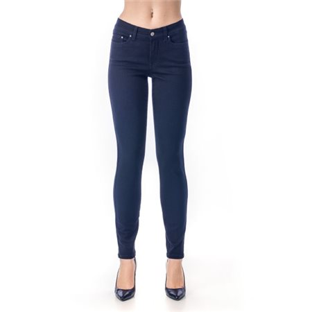 Jq Jeans Debbie Sateen Jeans Blue  - Click to view a larger image