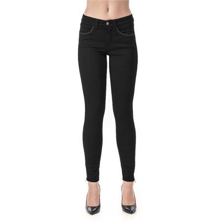 Jq Jeans Terry Soft Stretch Black  - Click to view a larger image