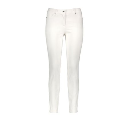 Taifun Hanna Super Skinny Jeans White  - Click to view a larger image