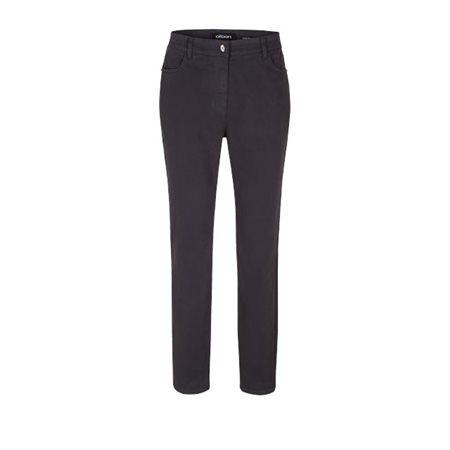 Olsen Mona Slim Leg Jeans Dark Grey  - Click to view a larger image
