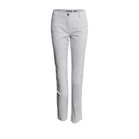 Olsen Lisa Power Stretch Jeans Dove Grey  - Click to view a larger image