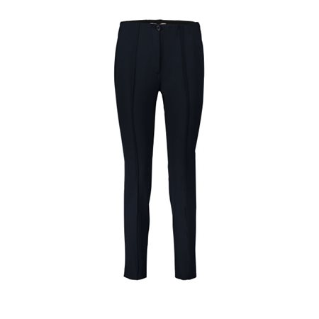 Betty Barclay Tailored Trousers Navy  - Click to view a larger image