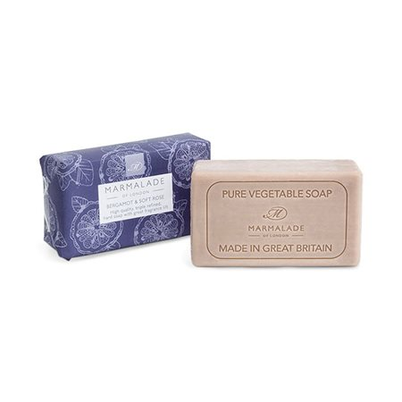 Marmalade Of London Bergamot & Soft Rose Soap  - Click to view a larger image