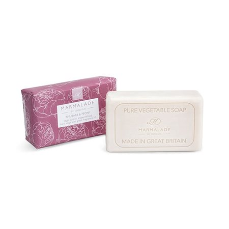 Marmalade Of London Rhubarb & Peony Soap  - Click to view a larger image