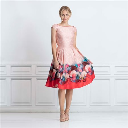 good selling fashion best sell Luna Dress Pink - 10