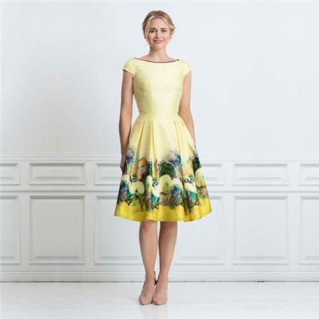 sale usa online on feet shots of reasonable price Luna Dress Yellow - 10