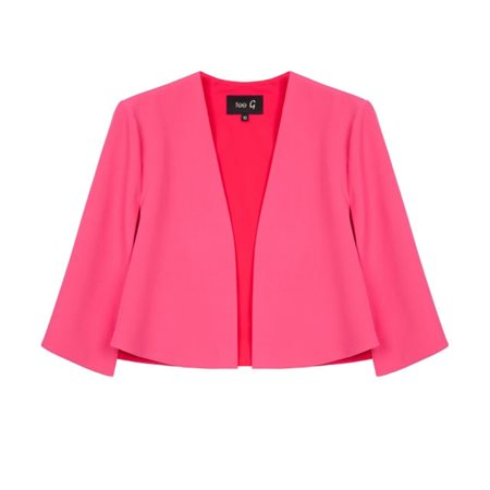 Fee G Edge To Edge Cape Hot Pink  - Click to view a larger image