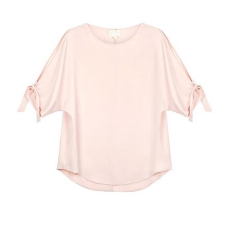 Fee G Batwing Blouse Blush  - Click to view a larger image
