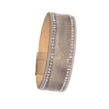 Hot Tomato Vintage Style Cuff Gold  - Click to view a larger image