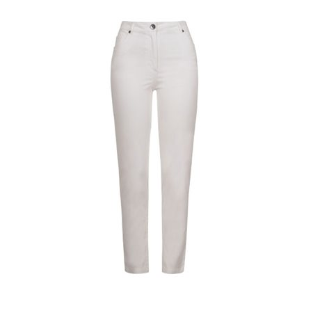 Emreco Classic Coloured Jeans White  - Click to view a larger image