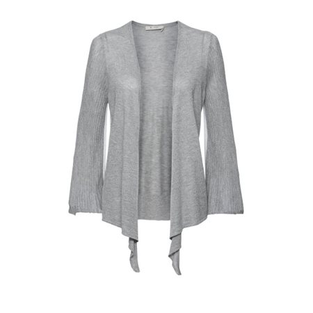 Monari Waterfall Cardigan Silver  - Click to view a larger image