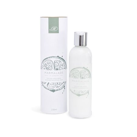 Marmalade Of London Tuscan Lime & Basil Body Lotion  - Click to view a larger image