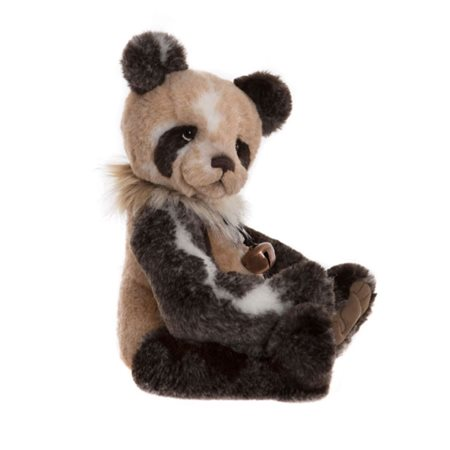 Charlie Bears Adrian The Panda Plush Collection Brown  - Click to view a larger image