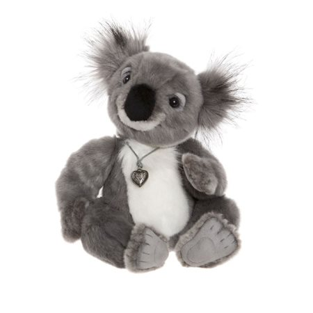 Charlie Bears Kayla The Koala Plush Collection Grey  - Click to view a larger image