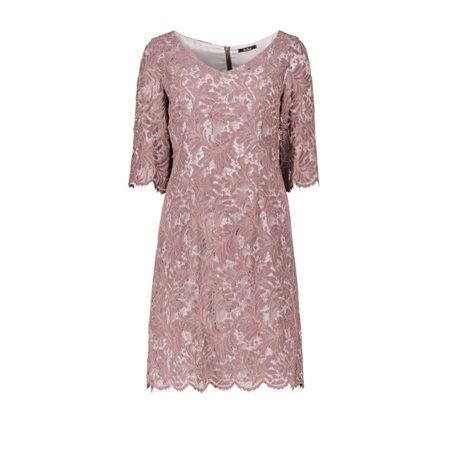 Lace Dress Mocha 10