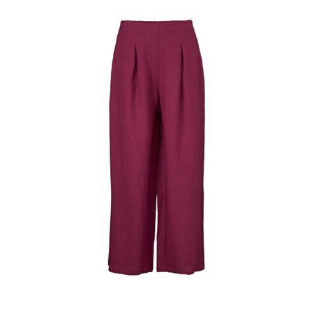 Masai Pauleen Trousers Maroon  - Click to view a larger image