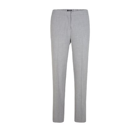 Olsen Tailored Trousers With Stripe Grey  - Click to view a larger image