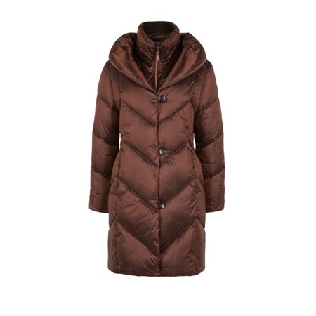 Olsen Padded Coat Copper  - Click to view a larger image