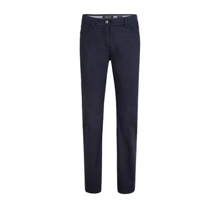 Olsen Lisa Casual Trousers With Power Stretch Blue  - Click to view a larger image