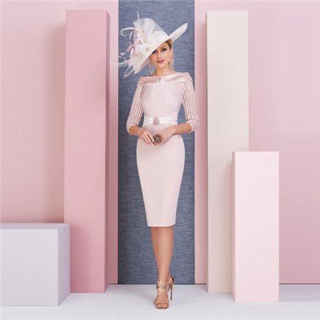 Ronald Joyce Veni Infantino Vintage Rose Dress  - Click to view a larger image