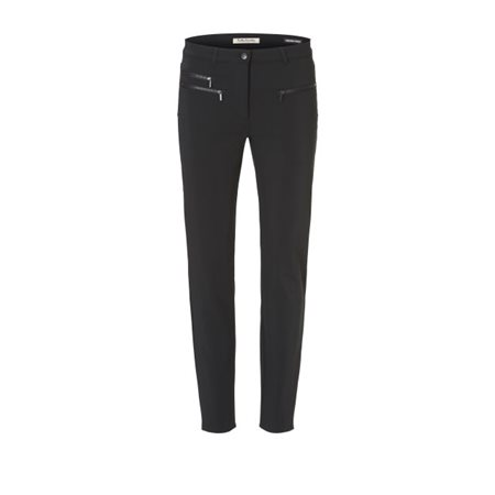 Betty Barclay Stretch Jean Trouser Black  - Click to view a larger image