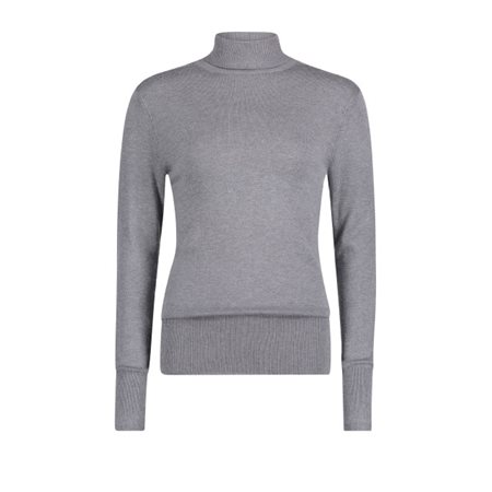 Betty Barclay Polo Neck Jumper Grey - Click to view a larger image e0b528a8a