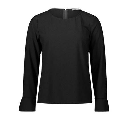 Betty Barclay Crepe Blouse Black  - Click to view a larger image