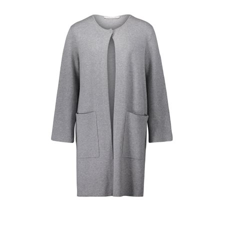 Betty Barclay Long Cardigan Grey  - Click to view a larger image