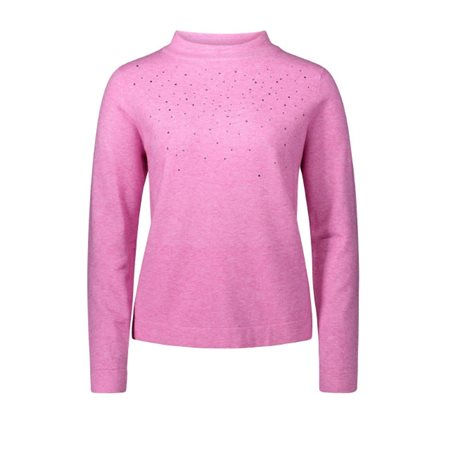Betty Barclay Jewelled Jumper Pink  - Click to view a larger image