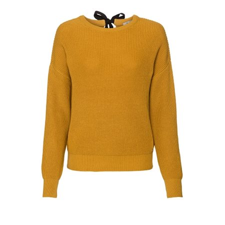 Monari Chunky Knit Pullover Ochre  - Click to view a larger image