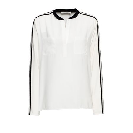 Monari Sports Luxe Blouse White  - Click to view a larger image
