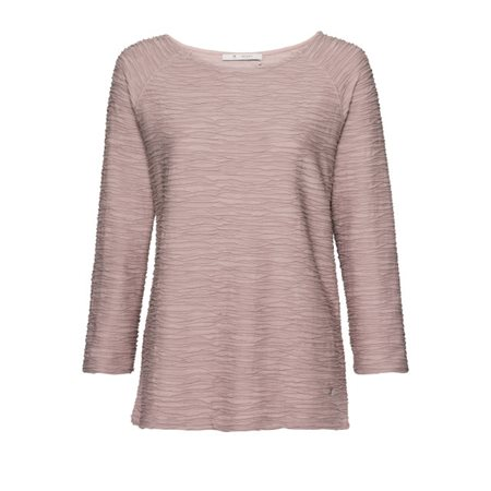 Monari Textured Top Pink  - Click to view a larger image