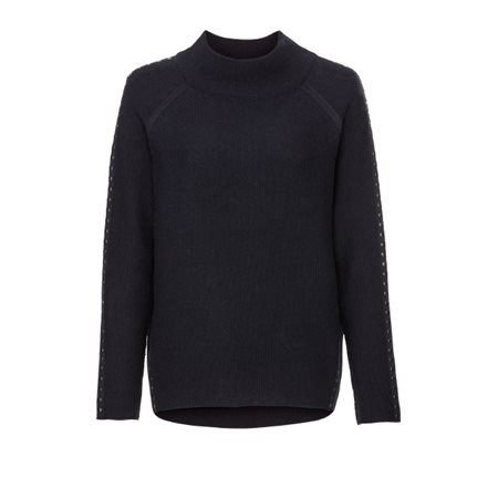 Monari Studded Pullover Navy  - Click to view a larger image