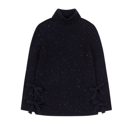 Emreco Chunky Knit Pullover Black  - Click to view a larger image