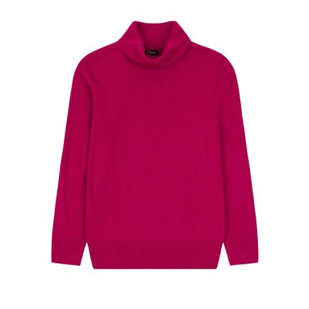 Emreco Soft Roll Neck Pullover Crimson  - Click to view a larger image