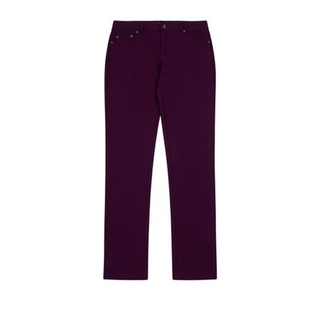 Emreco Stretch Trousers Aubergine  - Click to view a larger image