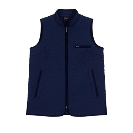 Emreco Lightly Quilted Gilet Navy  - Click to view a larger image