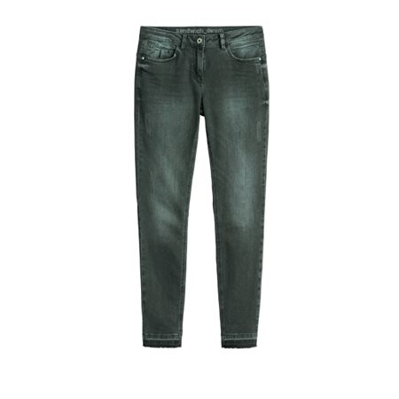 Sandwich Clothing Casual Jeans Dark Olive  - Click to view a larger image