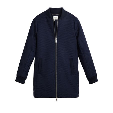 Sandwich Clothing Mid Length Jacket True Blue  - Click to view a larger image