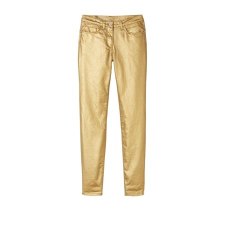 Sandwich Clothing Skinny Jeans Gold  - Click to view a larger image