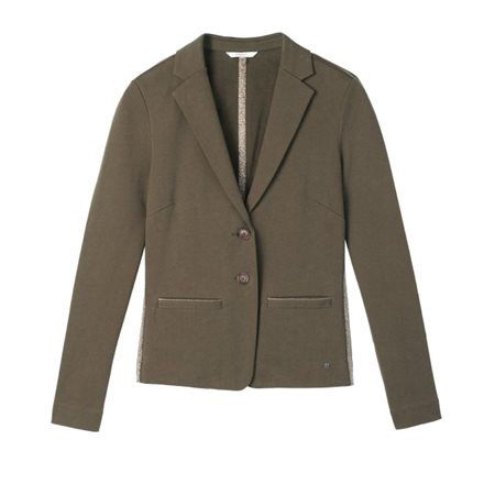 Sandwich Clothing Jersey Blazer Coffee  - Click to view a larger image