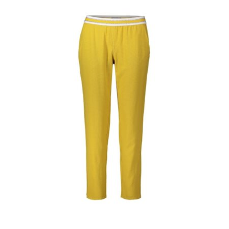 Betty & Co Bety & Co Loose Fit Lounge Trousers Ochre  - Click to view a larger image